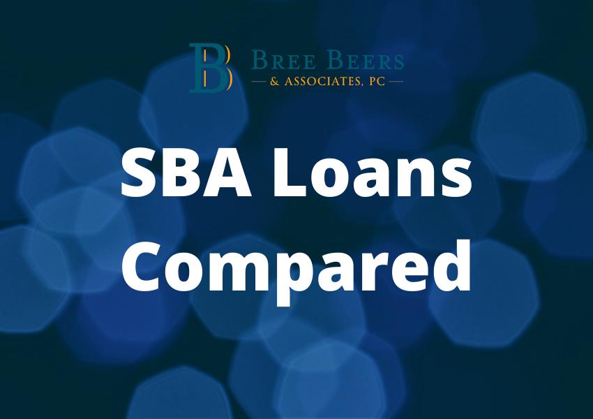 SBA Loans Compared